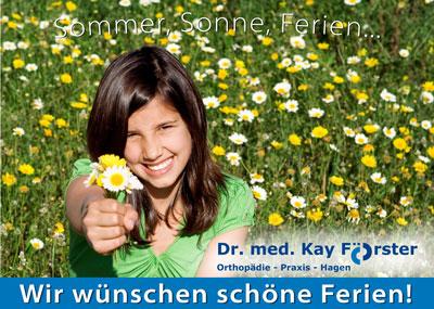 Sommerferien www.orthopaedie-hagen.info